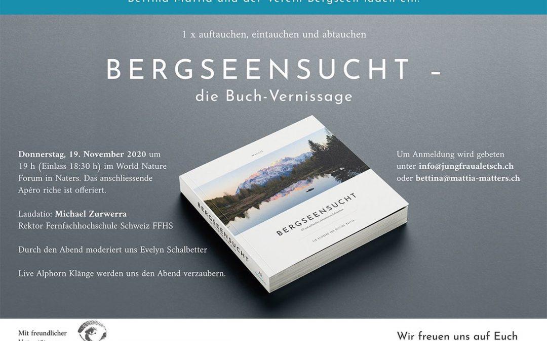 Buchvernissage BERGSEENSUCHT