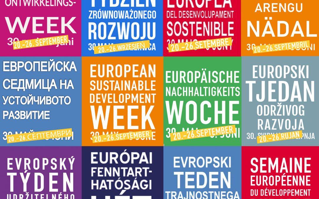Europäische Nachhaltigkeitswoche 2021